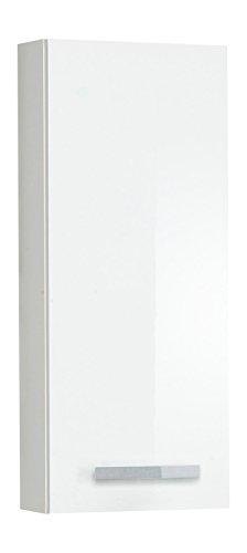 Kesper Badmöbel 6180010604201000 Hängeschrank Sydney, 1 Tür, 95 x 40 x 15 cm, weiß