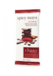 Chuao Chocolatier Spicy Maya All Natural - 2.8 Oz. (Pack of 4)
