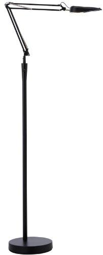 Adesso 5089-01 Spectator Led Floor Lamp, Black