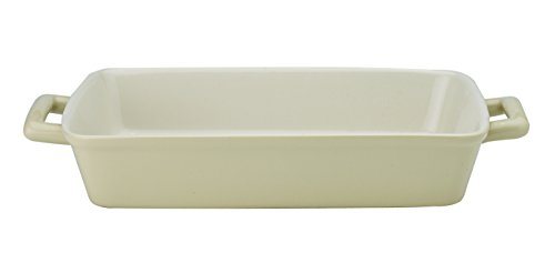 Mrs. Anderson's Baking Oblong Rectangular Baking Dish Roasting Lasagna Pan, Ceramic, Wheat, 13-Inches x 9-Inches x 2.5-Inches (Large Ceramic Baking Pan compare prices)