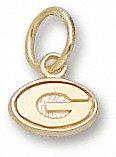 Georgia Bulldogs 10K Gold ''G'' 1/8'' Pendant