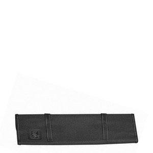 Tablecraft Black Ballistic Nylon Soft Knife Roll Holder Only -- 1 Each.