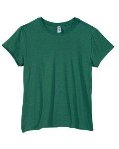 Bella Ladies Short Sleeve Crewneck T Shirt - Kelly - X-Large front-822162