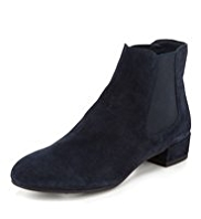 Footglove™ Suede Wide Fit Chelsea Boots