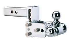 Great Features Of B & W Hitches TS10047C Chrome 6 Tri Ball