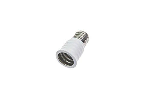 Shangge Ce&Rohs Certification 5 Pcs E12 To E14 White Led Bulb Base Converter Halogen Cfl Light Lamp Adapter Socket Change Pbt