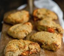 Grapefruit Barley Scones