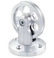 Ez Rod Wire Pulley Wheel Assembly Picture Hanging