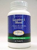 Laxative-3 Blend Enzymatic Therapy Inc. 60 Tabs