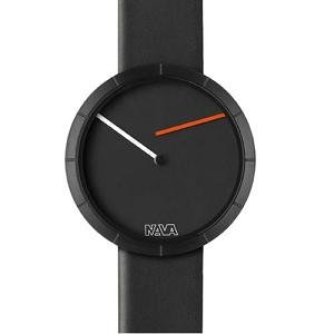 Nava Time Tempo Libero Unisex Black Dial Watch - O421N