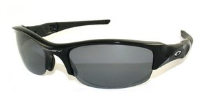Flak Jacket – Polarized Jet Black/Black Ird Polarized 000 by Oakley