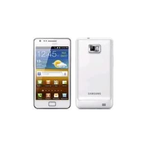 Samsung Galaxy S II SA-I9100 Unlocked Phone with 8 MP Camera and GPS support - International Version - Ceramic White
