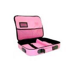 Lizardprice Pink Laptop Bag 17 Inch