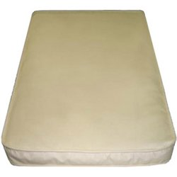 100% Organic Bassinet Mattress Size: 17x31x2