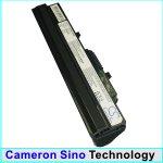 Replacement Black 6600mAh Battery for MSI Wind U100, MSI Wind U120, Advent 4211, Advent 4212, Medion Akoya Mini E1210