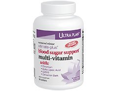 Ultra Plan Ultimate-Plus Blood Sugar Support Multi-vitamin (60 tabs)