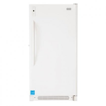 Frigidaire FFUH17F2NW 16.7 Cu. Ft. White Counter Depth Upright Freezer - Energy Star