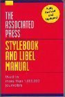 Associated Press Stylebook and Libel Manual (0201627043) by Press, Associated