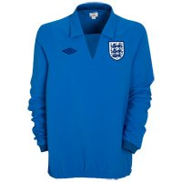 2010-11 England Match Day Drill Top (Blue)
