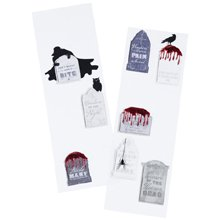 Martha Stewart Crafts Halloween Layered Tombstone Stickers