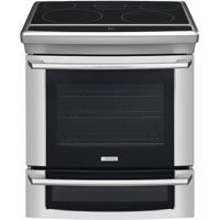 Electrolux EW30ES65GS 30 Slide-in Electric Range, 5 Radiant Elements, Convection - Stainless Steel