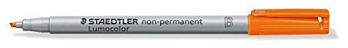 Staedtler 312 WP6 Lumocolor Feutre non permanent Pointe large Pochette de 6 (Import Royaume Uni)