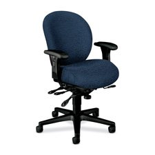 HON 7628BW90T Unanimous High-Performance Mid-Back Task Chair Navy Blue FabricB0000DJEGN