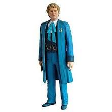 Dr Who Exclusive Sixth Dr in Blue Real Time Coat