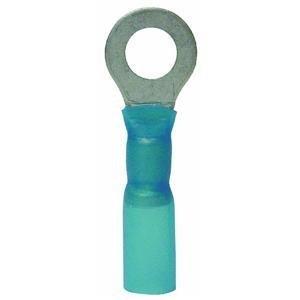 Gardner Bender AMT-103 16-14 AWG Nylon Insulated Ring Terminal, Blue, 3-Pack