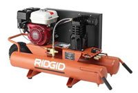 Ridgid 17048 Gas Powered Wheelbarrow Air Compressor