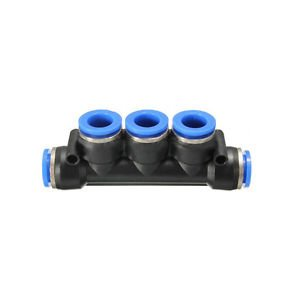 Banggood 5pcs 12mm Pneumatic Multiple Tee Connector Push In Fitting Air/Water/Vacuum