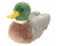 Wild Republic Audubon Plush Mallard Duck with Authentic Quack