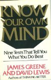 Know Your Own Mind (0892562684) by James Greene