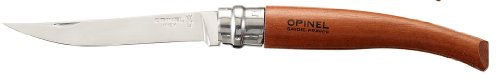 Opinel Slim Knife N°10, Bubinga Handle0