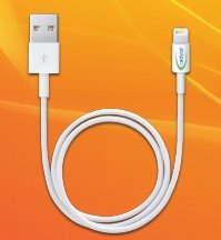 Cadyce USB Sync/Charge Cable For iPod,iPhone,iPad 1M