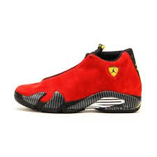 Air Jordan 14 Retro 654459 670 suede red
