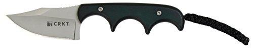 Columbia-River-Knife-Tool-Fahrtenmesser-Minimalist-Bowie-Cuchillo-de-hoja-fija-color-negro