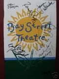 Roger Bart , Randy Graff , Robert Sella , & Joanna Glushak Signed Brand New Autographed Playbill by four of the five members of the cast from Fit to Print: Remotely Controlled