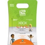 New Xbox 360 Xbox Live 12 Month Gold Card Simultaneous Talk Intelligent Matchmaking Leagues Ladders