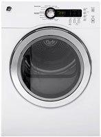 Ge Dcvh480Ekww 4.0 Cu. Ft. White Stackable Electric Front Load Dryer