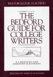 The Bedford Guide for College Writers: Resources for Teaching (0312071167) by X.J. Kennedy