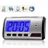 Alarm Clock with Motion Detection Hidden Spy Camera & Remote