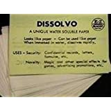 Dissolvo Disappearing Paper Magic Trick (Small Pad)