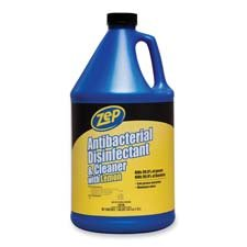 Zep Inc. : Antibacterial Disinfectant and Cleaner, with Lemon, 1 Gallon -:- Sold as 2 Packs of - 1 - / - Total of 2 Each