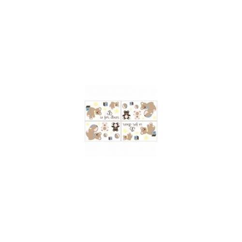 Teddy Bears   Nursery Baby Room Decor   7 Wall Stickers / Decals