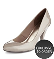 M&S Collection Stiletto High Heel Patent Court Shoes