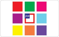 JCPenney Gift Card Collection