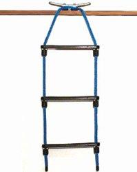 E-Z-TY 3-Step Rope Ladder - Black by E-Z-TY