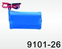7.2v Li-oin Battery Pack For The Double Horse Syma 9101 Gyro Helicopte
