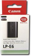 Canon LP-E6 Battery Pack for Select Canon Digital SLR Cameras (Retail Package)